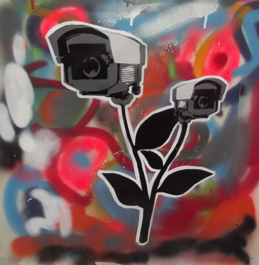 CCTV flower by SPACE-MONKEY92