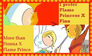 Flame PrincessxFinn over Flame PrincexFionna by Moonstone27