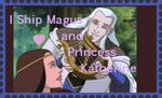 Magus and Princess Katherine Stamp