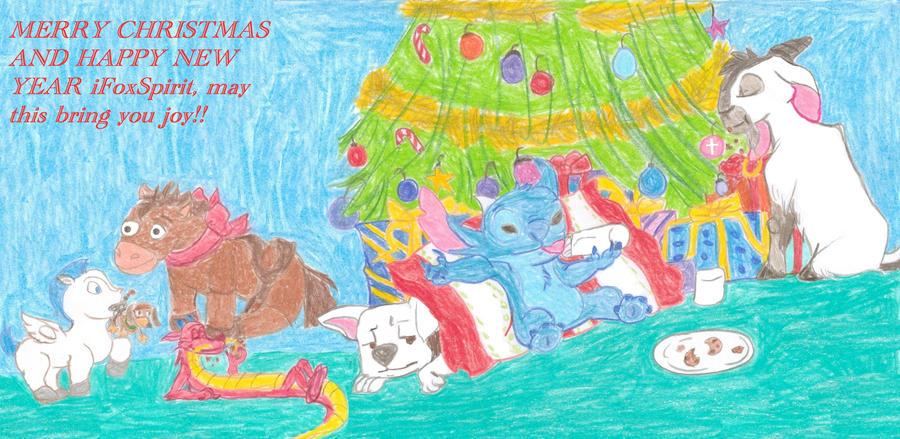 Secret Santa Gift for iFoxSpirit by Moonstone27