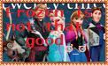 Not Frozen Fan Stamp by Moonstone27