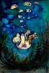 Sinking down