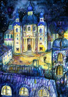Nights in Prague by Srdce