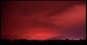 Red Sky Night by Ah-Teen