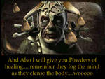 Magic Powders of healing
