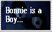 Bonnie IS a Boy by TheOneAndOnlyBunny