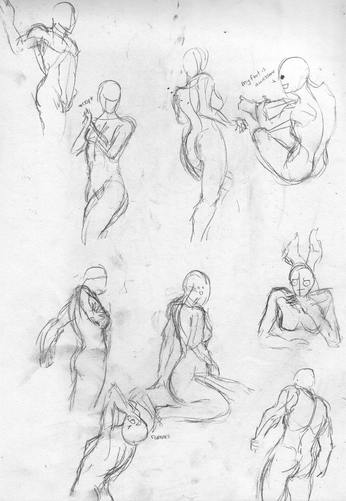 Menjah's plethora of crappy drawings :D