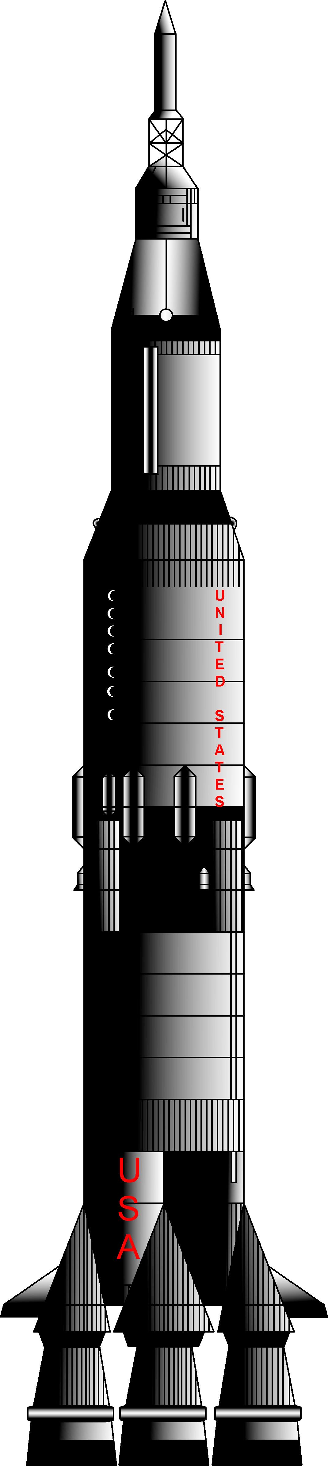 apollo rocket drawing - photo #44