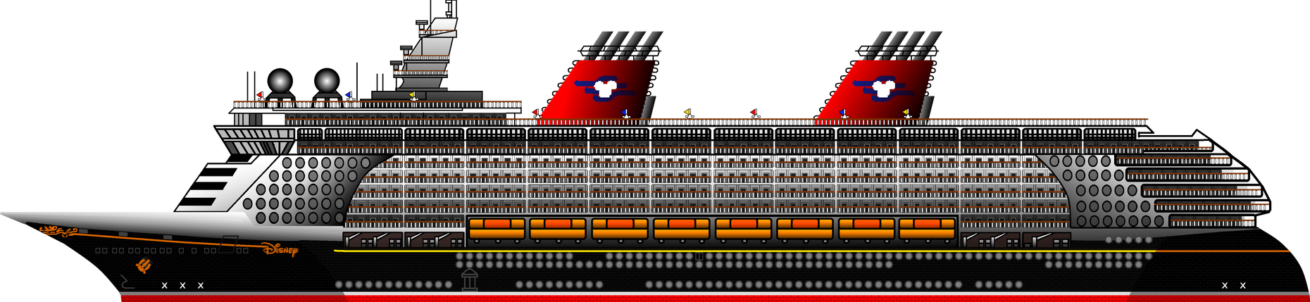 Disney Fantasy Cruise Ship By Ryanh1984 On Deviantart