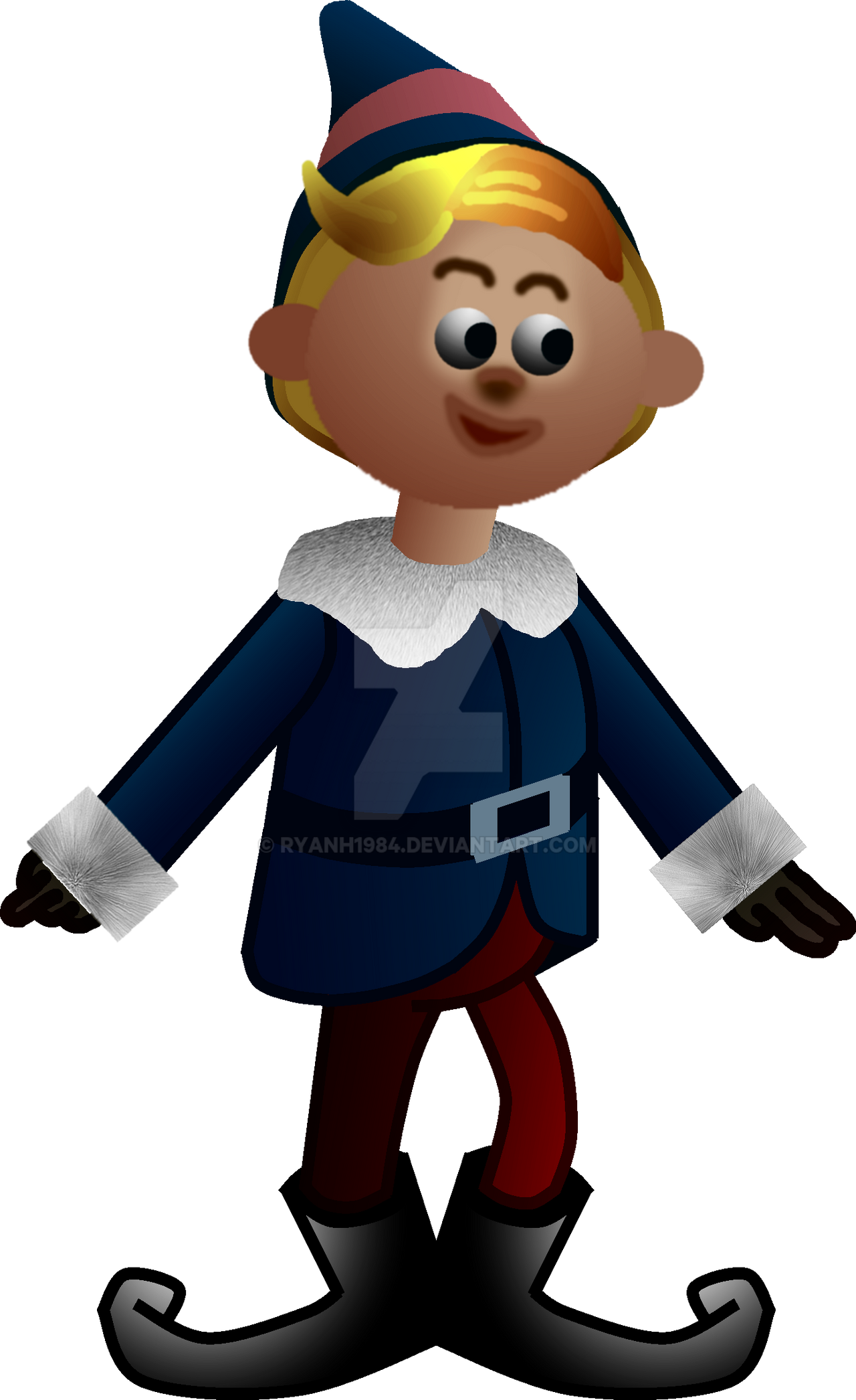 Rudolph The Red Nosed Reindeer 1964 >> Hermey from Rudolph The Red Nosed Reindeer (1964) by RyanH1984 on DeviantArt