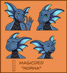 MagicDed (Norna) Stickers