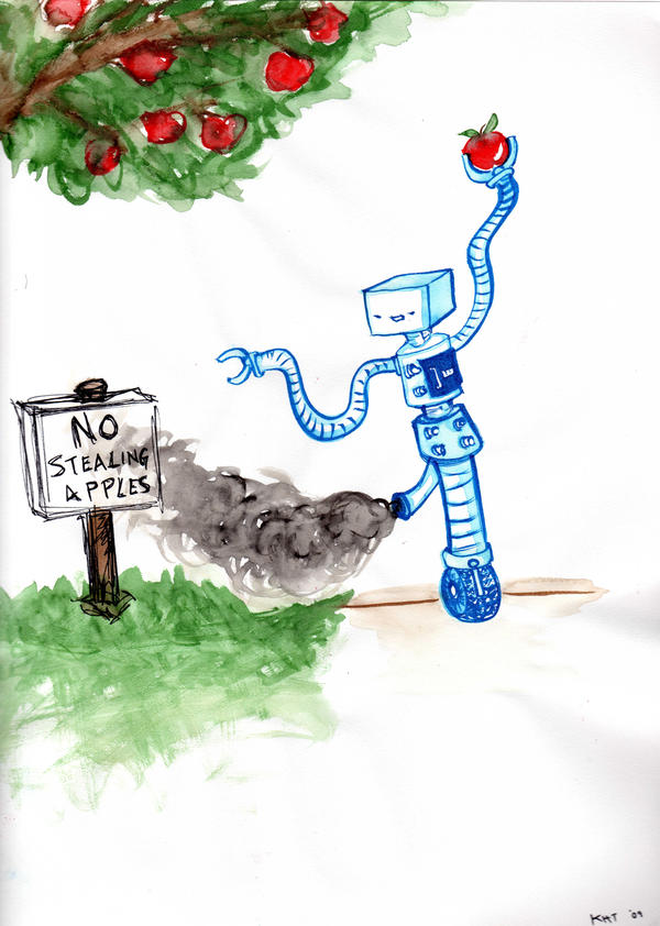 Robots Love Apples