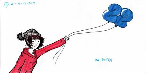 Day 2: Mah Birdei