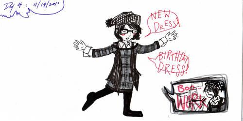 Day 4: Birthday Dress