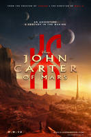 Alternate Universe JOHN CARTER OF MARS Poster by A13XANDER