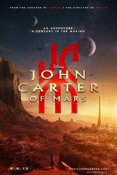 Alternate Universe JOHN CARTER OF MARS Poster