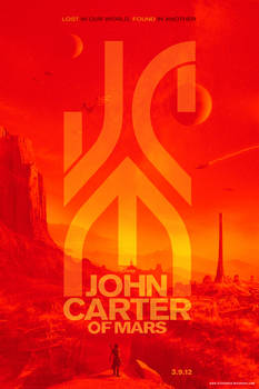 Alternate Universe JOHN CARTER OF MARS Poster 2