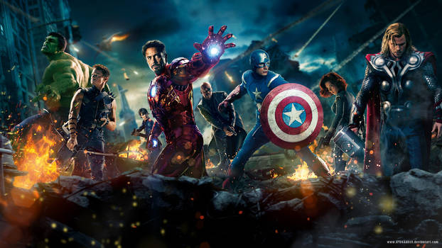 Marvel Mayhem by A13XANDER