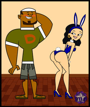 Total Drama: Jane Showing off for DJ (In 2D)