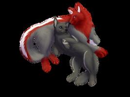Valentine YCH for Rasa125 by DogeDays