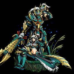 Jinouga Armor by GreayKey