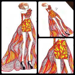 Fashion Pattern by BethzAbonitz