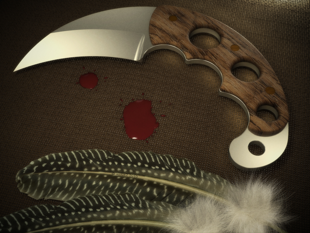 Hawk Knife by Sirius-2