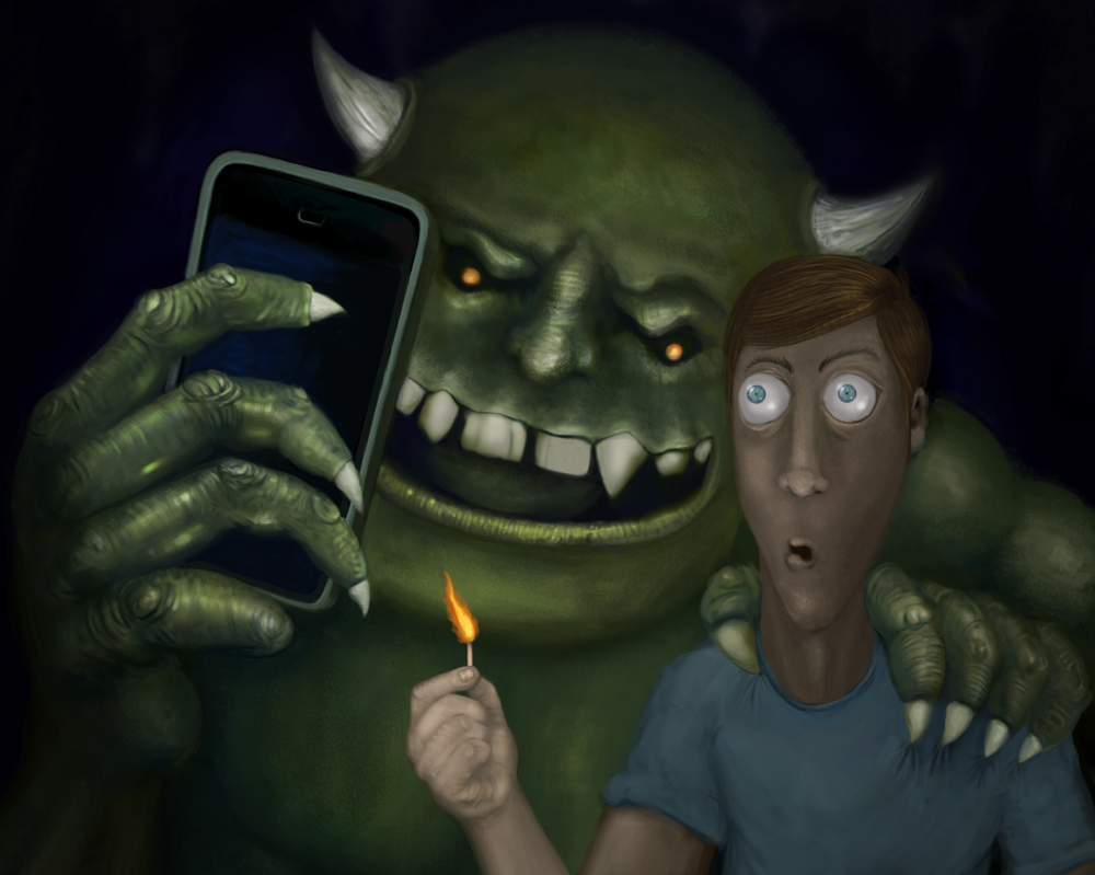 Surprise creates the best selfies by Titus-rab
