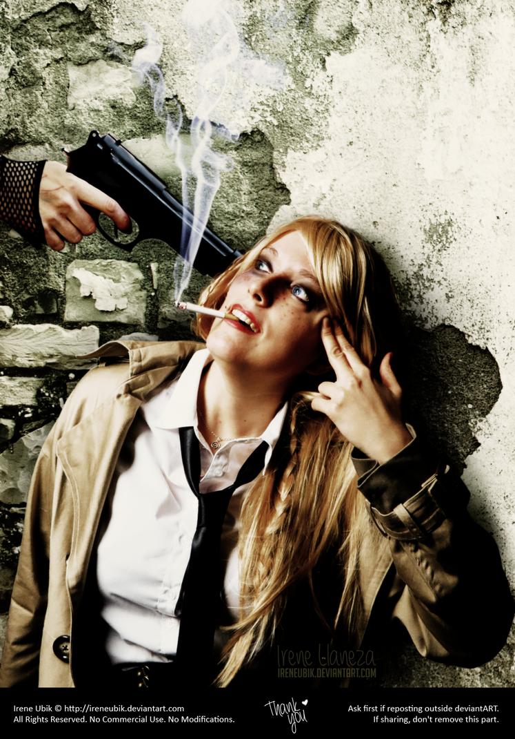 Constantine - Hellblazer - Gun by IreneUbik