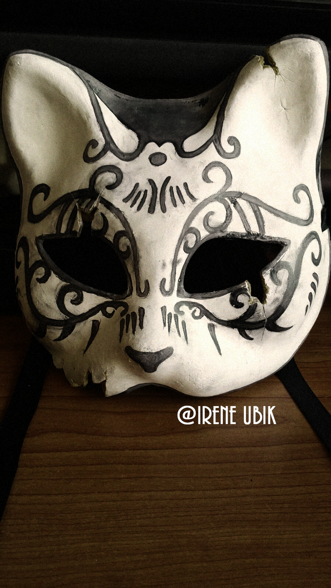 bioshock splicer cat mask wip cracked by ireneubik on