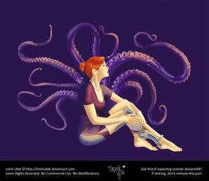Purple Espiral aka LadyKraken (Original Character)