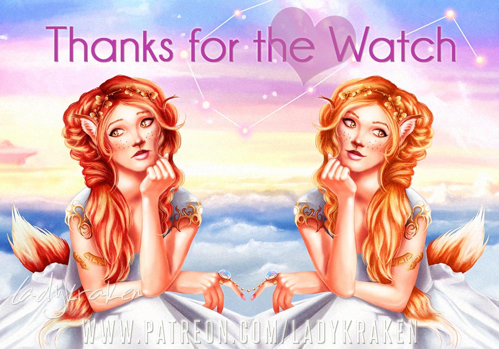 Lady Kraken Thanks For The Watch - Gemini by LadyKraken