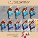 Anna/Sandra OC Commission - Video Tutorial by LadyKraken
