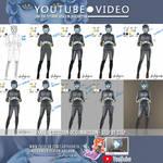 Xatha Carsidian OC Commission - Video Tutorial by LadyKraken