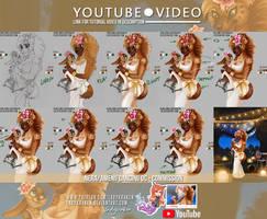 Nera/Amenii DancingOC- Commission - Video Tutorial by LadyKraken