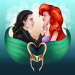 Loki/Ariel - We do what we want by LadyKraken