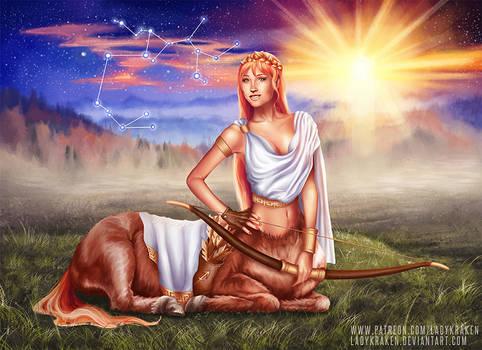 Sagittarius OC - 12 Zodiac Ladies