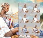 Virgo OC - 12 Zodiac Ladies - Steps+Video