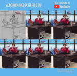 Veronica Reese Office OC-Commission +Youtube Video
