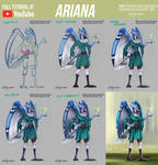 Ariana OC - Commission +Youtube Video