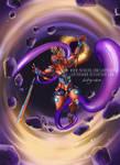 Into The Void (Oni Samurai Gundam OC) - Commission by LadyKraken