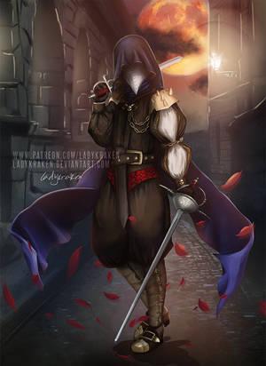 Wartide Assassin - Commission by LadyKraken