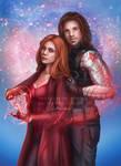 Wanda/Bucky Power - Commission