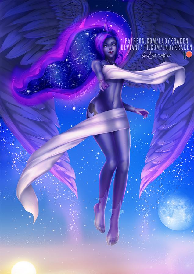 Princess Luna - Blue Moon Goddess