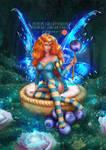 Merida Spell Cake Fairy - SFW Patreon Poll by LadyKraken