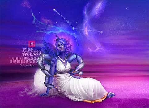 Luna of Cancer - 12 Zodiac MLP Inspired