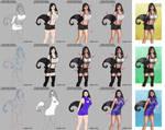Tifa Lockhart Victory Pose - Steps Digital by LadyKraken