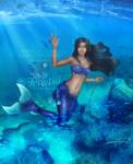 [Version 1] Mi'ara Mermaid Love - Commission by LadyKraken