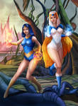 Princess Ariel/Sorceress - Commission by LadyKraken