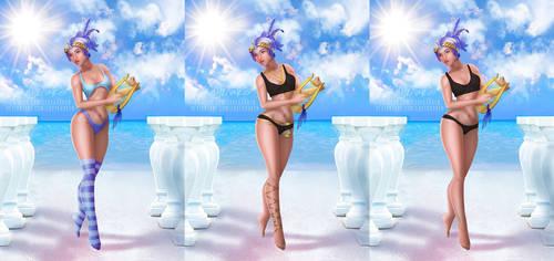 [Bikini/Spicy] Minuette Dance Muse - Patreon Poll